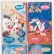 「ピップホップハート」学研の幼児向け月刊英語教材 えいごだいすきキッズ用に作られた作品 毎月の表紙も担当