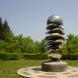 「風の記憶」2000 ステンレス・スチール H310×W150×D150cm