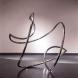 「A study of tangible H」 2007年8月~9月 新宿・ギャラリー絵夢 ステンレスパイプ W100×D100×H100cm