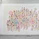 「Greeting flower(Camaboco)」270×500cm ステンシル/壁面にアクリル 2010 東京造形大学旧絵画棟P-2アトリエ