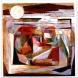 日本画作品「大地の人」1991年  S50号