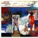日本画作品「波の記憶」1986年 F150号