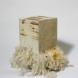 """「SOULS」この作品は命の素材""""シルク""""を固めたものである。 蚕一匹からとれる糸は0.5g。今回展示しているシルクを使って作ったキューブの一つの重さは約1kgあり、それは約2000匹の蚕の命から作ら"""