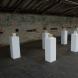 「SOULS」世界中のシルクを固めた作品。イギリスの紡績工場だった場所(世界遺産)で行われた展示cloth&memory出展。2013年