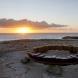 """Circle - on the earth"" <C-39> /H.50x350x350cm/cor-ten steel,stone/2017/Bondi beach,Sydney"