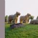 「Muse」1995年 とうや湖ぐるっと彫刻公園 H180×W500×D120(cm)