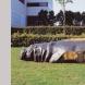 「Hippopotamus」 2000年 彫刻のあるまちづくり シリーズNo.15 H100×W340×D120(cm)